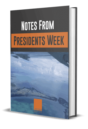 Presidents Week Notes - Escape Artist
