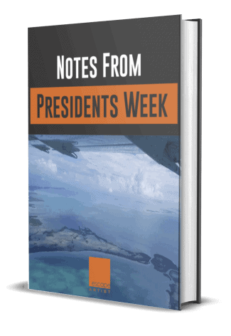 Presidents Week Notes - Escape Artist