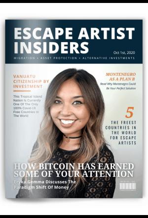 Insiders Magazine - Eryka Gemma Cover - Oct 1st 2020