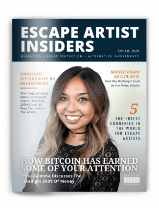Insiders Magazine - Eryka Gemma Cover - Oct 1st 2020