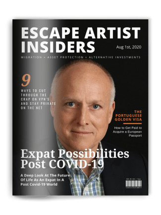 Insiders Magazine - Michael Cobb Cover - Aug 1st 2020