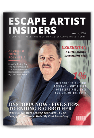 Insiders Magazine - Paul Rosenberg Cover - Nov 1st 2020